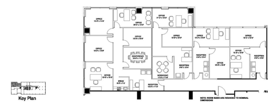 Company floor plan office furniture floor plan as your for Floor plan companies