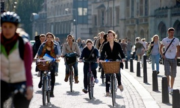Campus Bicycle Routes Bicycle Storage In Europe